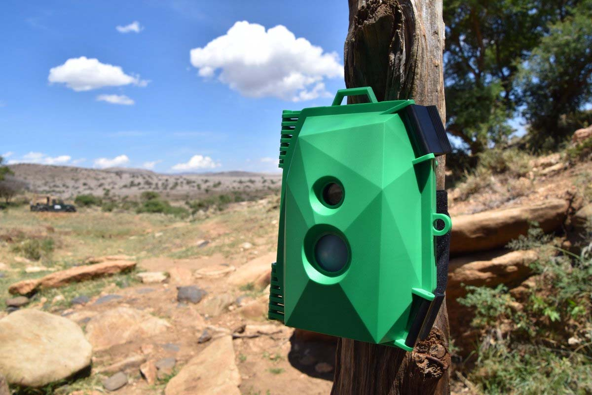 Electronic Components for the Wildlife Cam Case