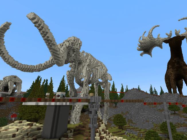Free naturebytes' Minecraft World